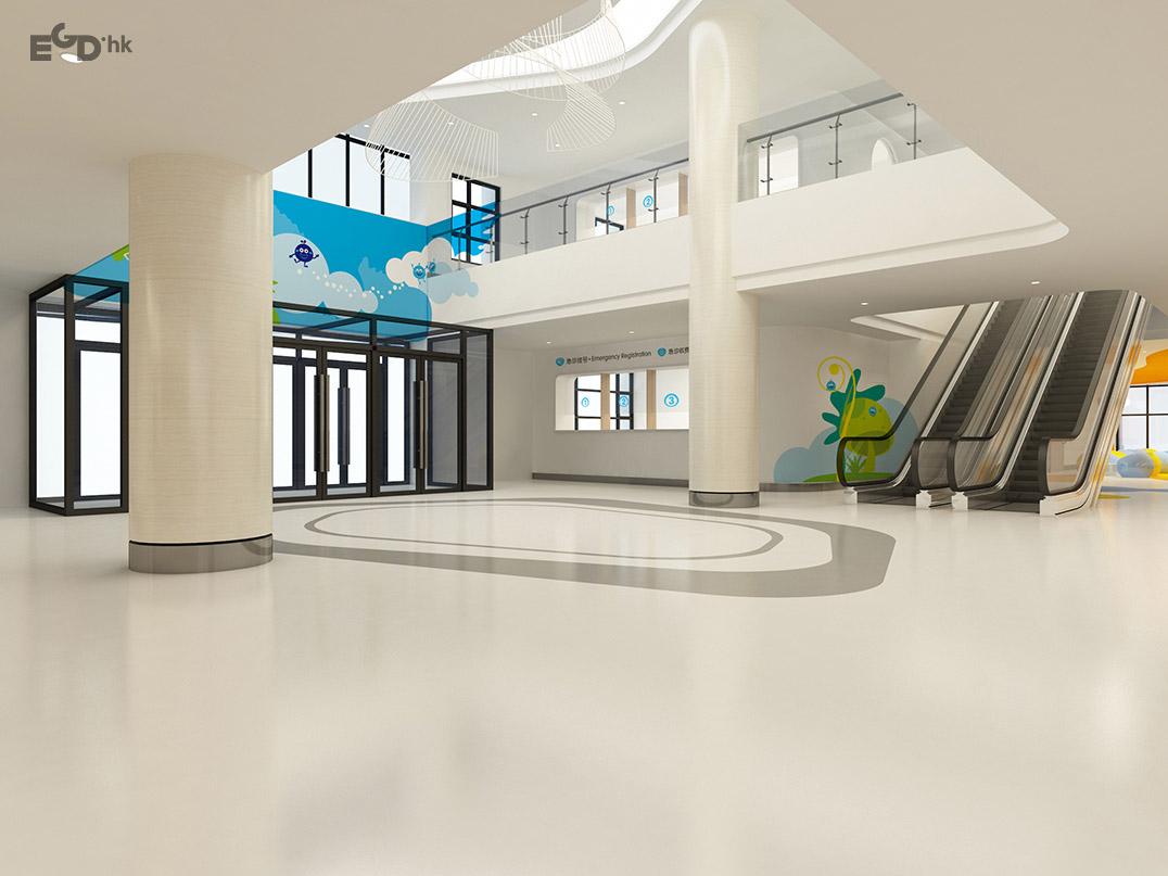 金山儿童疾病防治中心医院环境艺术环境图形设计及导视系统设计